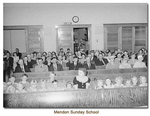 Mendon Sunday School