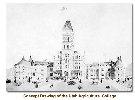 Concept of Utah Agricultural College