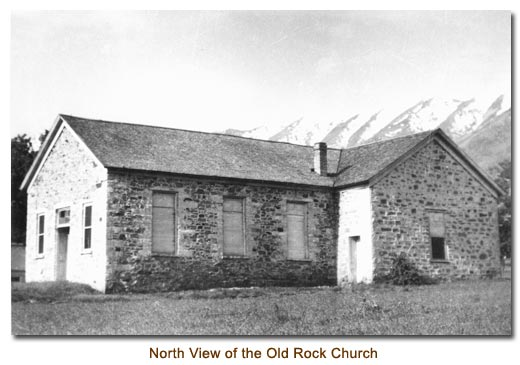 North View of the Old Rock Church