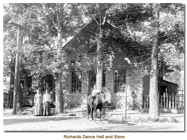 Richards Dance Hall and Store