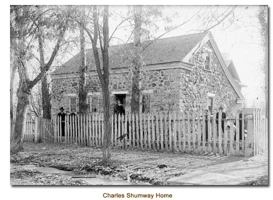 The Old Charles Shumway Home