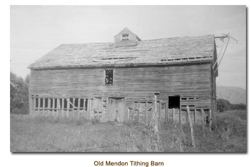 Old Mendon Tithing Barn