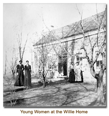 Young Women at the Willie Home
