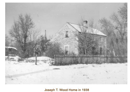 Joseph T. Wood Home in 1938