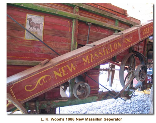 1888 Russelll New Massillon Seperator