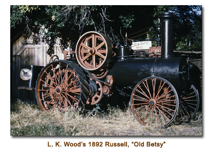 L. K. Wood's 1892 Russell, Old Betsy