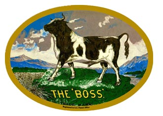 "Russell Company Logo, ""The Boss."""