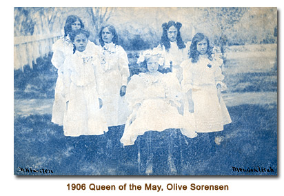 1906 Queen of the May, Olive Sorensen