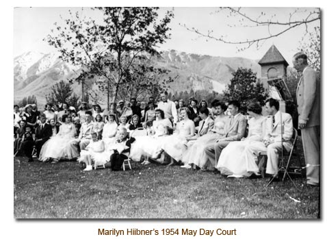 Marilyn Hiibner's 1954 May Day Court