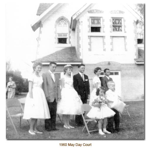 1960 Mendon May Day Court