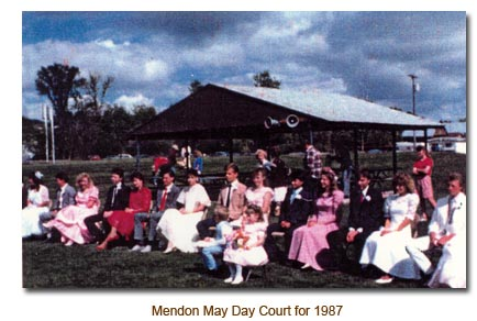 Mendon May Day Court for 1987