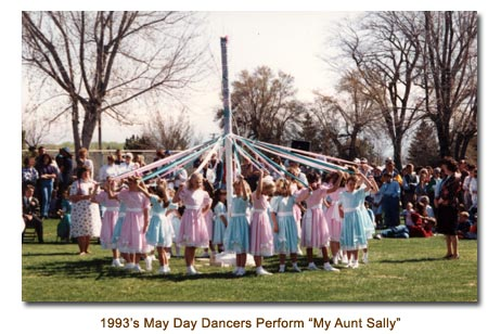 Mendon May Day Dancers perform My Aunt Sally