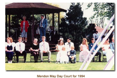 Mendon May Day Court for 1994.