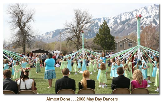 2008 May Day Dancers . . . Almost Done