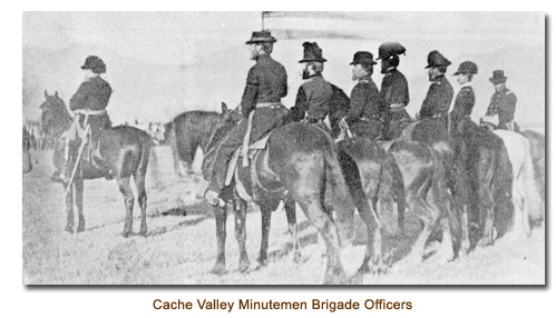 Cache Valley Minutemen Brigade Officers