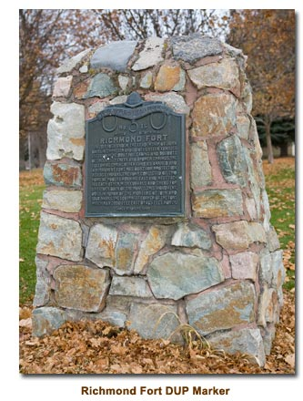 Richmond Fort DUP Marker